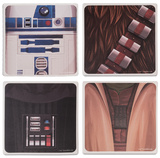 Star Wars 4 Pc Ceramic Coaster Set Coaster