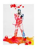 Daryl Dixon Watercolor Poster par Lora Feldman