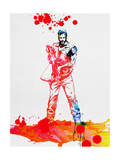 Daryl Dixon Watercolor Poster by Lora Feldman