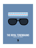 The Royal Tenenbaums 1 Poster von David Brodsky