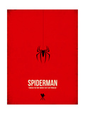 Spiderman Kunstdrucke von David Brodsky