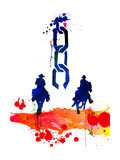 Lora Feldman - Unchained Watercolor - Reprodüksiyon