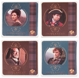 Outlander 4 Pc. Ceramic Coaster Set Coaster