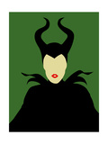 Maleficent Posters by David Brodsky