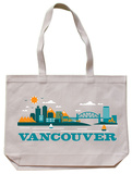 Vancouver Natural Canvas Tote Tote Bag
