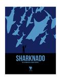 Sharknado Poster von David Brodsky