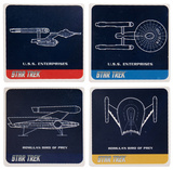 Star Trek 4 Pc. Ceramic Coaster Set Coaster