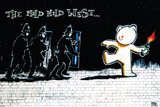 Banksy- Mild Mild West Prints by Banksy