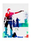 Rick Watercolor Poster von Lora Feldman
