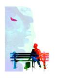 Forrest Watercolor 2 Poster par Lora Feldman