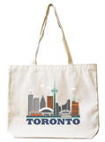 Toronto Natural Canvas Tote Tote Bag