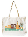 Brooklyn Natural Canvas Tote Tote Bag