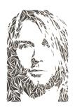 Kurt Cobain Affiches par Cristian Mielu