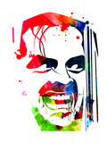 The Shining Watercolor Prints by Lora Feldman