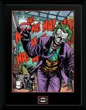 Batman- Joker Forever Evil Lámina de coleccionista