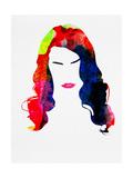 Lana Watercolor Posters van Lora Feldman