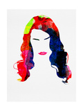 Lana Watercolor Prints by Lora Feldman