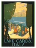 Lake Garda - Riva, Italy Posters by Antonio Simeoni