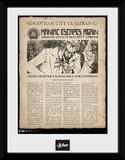 Batman- Joker Makes Headlines Sběratelská reprodukce