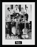 The Beatles- Instruments Ready Collector Print