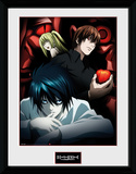 Death Note- Light, L And Misa Collector Print