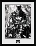Batman- Anguish In The Rain Wydruk kolekcjonerski