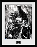 Batman- Anguish In The Rain Collector Print