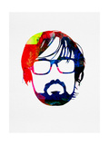 Jarvis Watercolor Poster by Lora Feldman