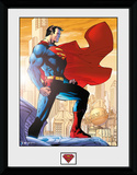 Superman- Metropolis Protector Collector Print