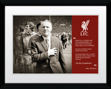 Liverpool- Shankly Quote Print Collector-tryk