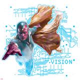 Captain America: Civil War - Vision Posters