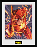 The Flash- Speed Lightning Lámina de coleccionista