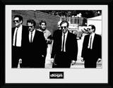 Reservoir Dogs- Let's Go Gerahmte Memorabilien