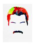Freddie Watercolor Posters par Lora Feldman