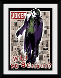 Batman Dark Knight- Joker Headlines Samletrykk