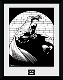 Batman- In The Spotlight Black & White Lámina de coleccionista