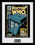 Doctor Who Comic- Lost In Time & Space Sběratelská reprodukce