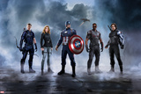 Captain America: Civil War - Team Captain America Print