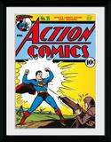 Superman- Action Comics #35 Sběratelská reprodukce