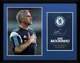 Chelsea- Jose Mourinho Lámina de coleccionista