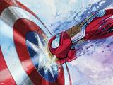Captain America: Civil War - Captain America Vs Iron Man. Choose a Side Kunstdruck