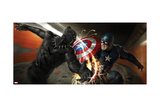 Captain America: Civil War - Captain America and Black Panther Poster
