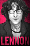 John Lennon Illustration Print by  Lynx Art Collection