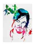Daryl Watercolor Posters by Lora Feldman