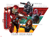 Captain America: Civil War - Team Stark, Team Iron Man Poster