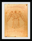 Doctor Who- Vitruvian Weeping Angel Collector Print