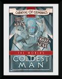 Batman- Coldest Man Lámina de coleccionista