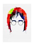 John Watercolor Plakater af Lora Feldman