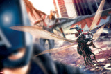 Captain America: Civil War - Close-Up of Ant-Man Prints