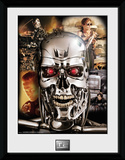 Terminator 2- Character Collage Collector Print